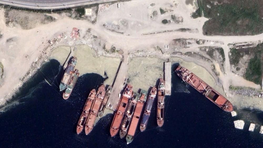 İstanbul'daki müsilaj uzaydan görüntülendi - 5