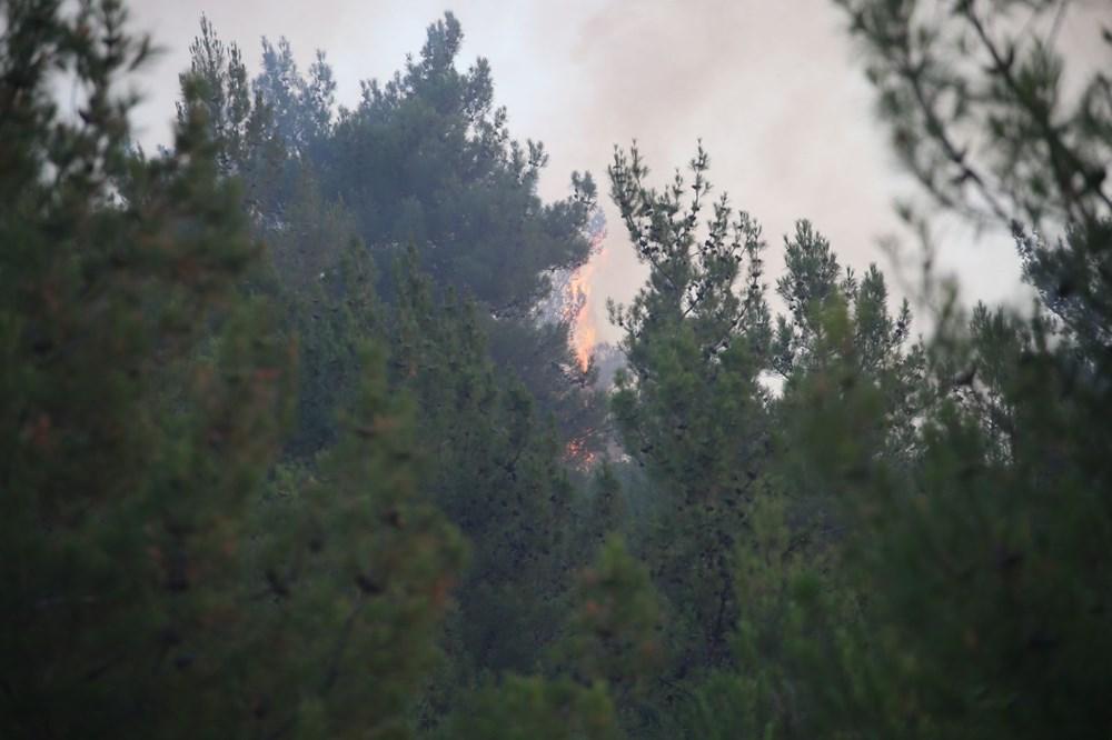 Mersin ve Hatay'da orman yangınları devam ediyor - 3