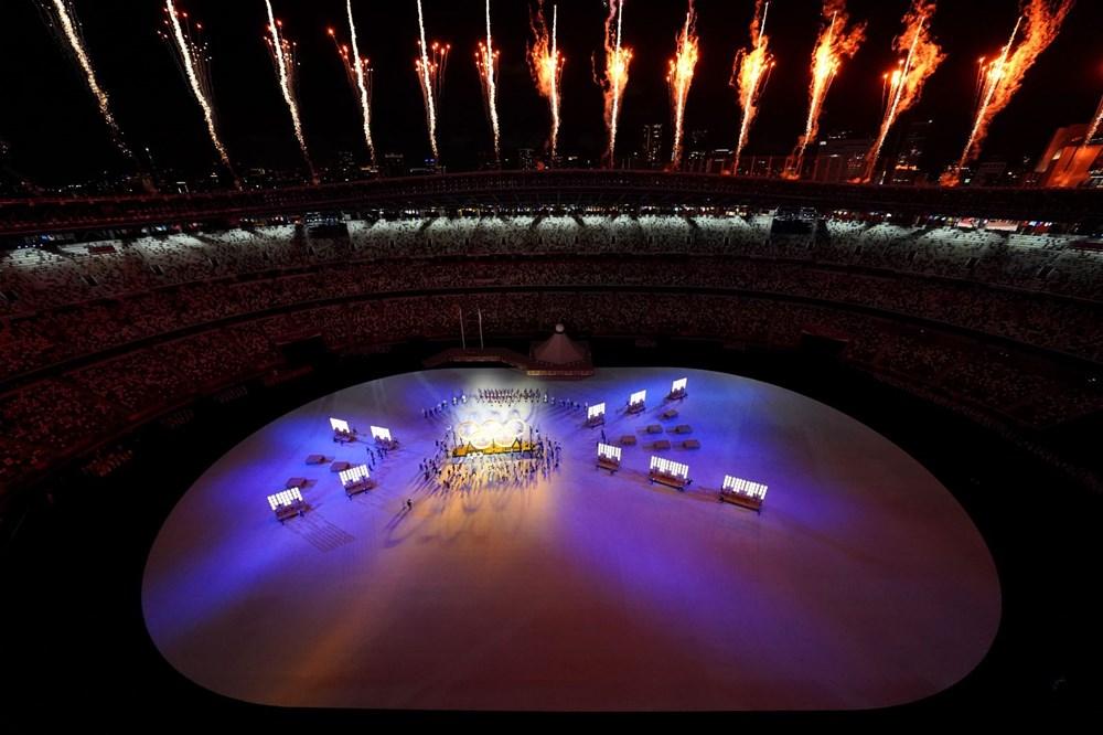 2020 Tokyo Olimpiyatları görkemli açılış töreniyle başladı - 46
