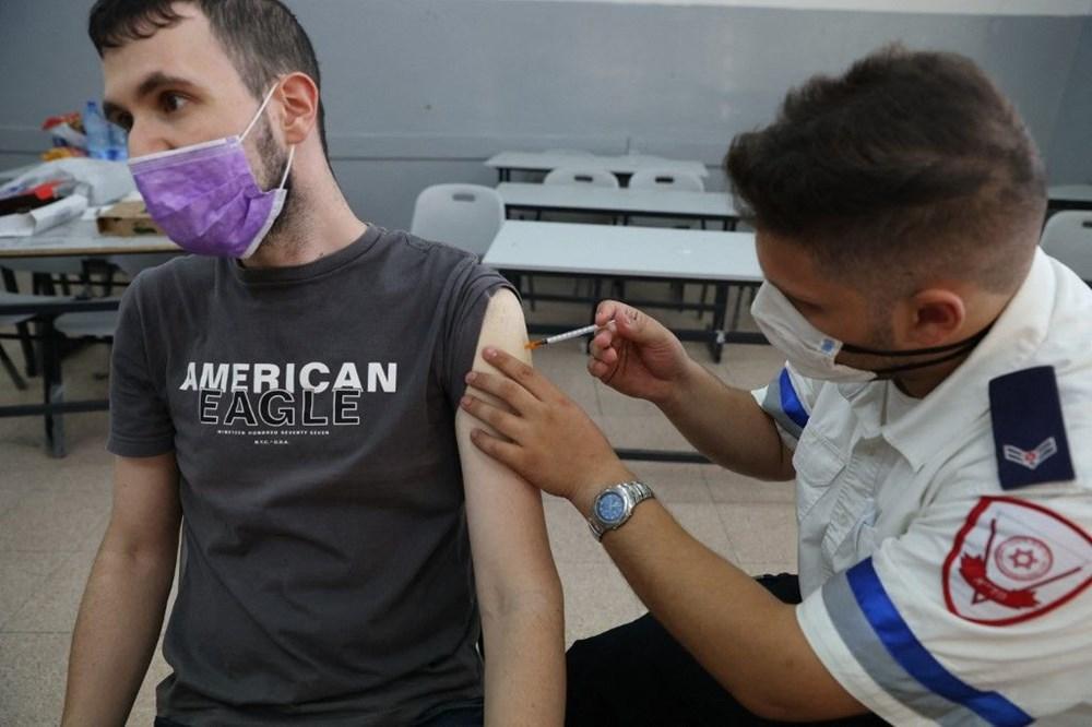 İsrail Covid-19'da 3. dozu zorunlu kılan ilk ülke oldu: 2 milyon aşı pasaportu tehlikede - 6