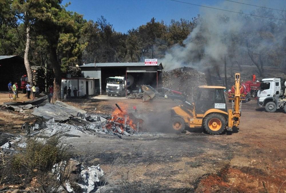 Antalya Manavgat'taki yangın kontrol altında - 13