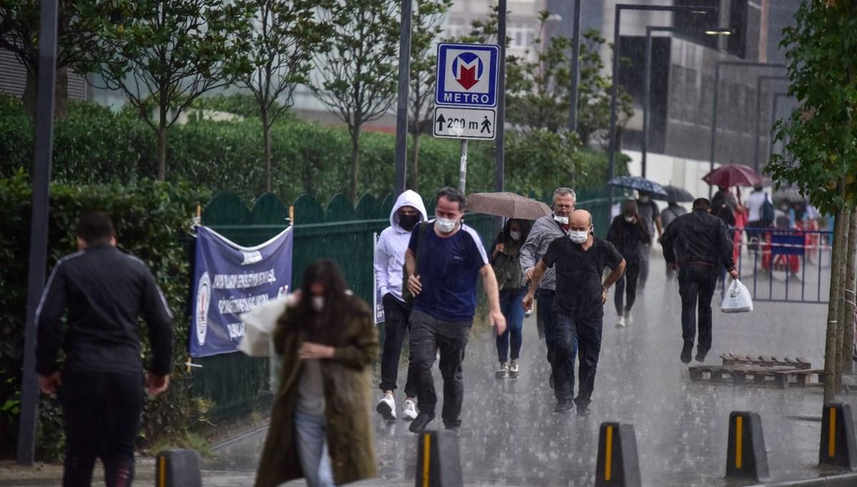 Hava durumu: İstanbul'da sıcaklık düştü, kuvvetli yerel yağışlara dikkat!