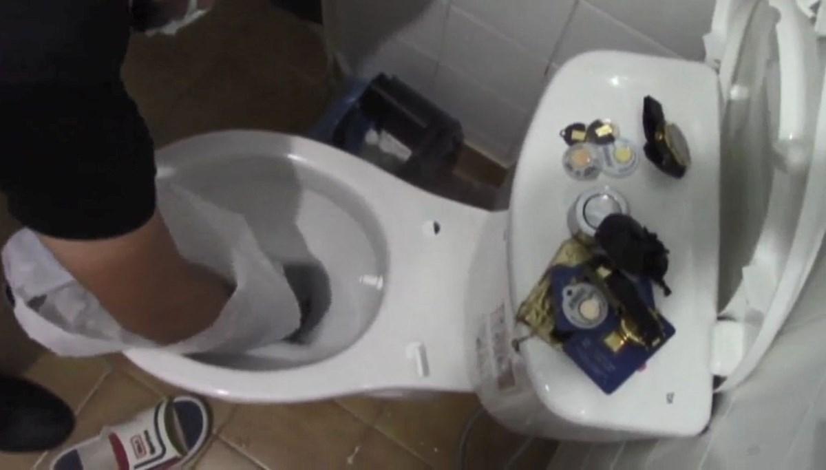 Tuvaletten 50 bin liralık altın çıktı