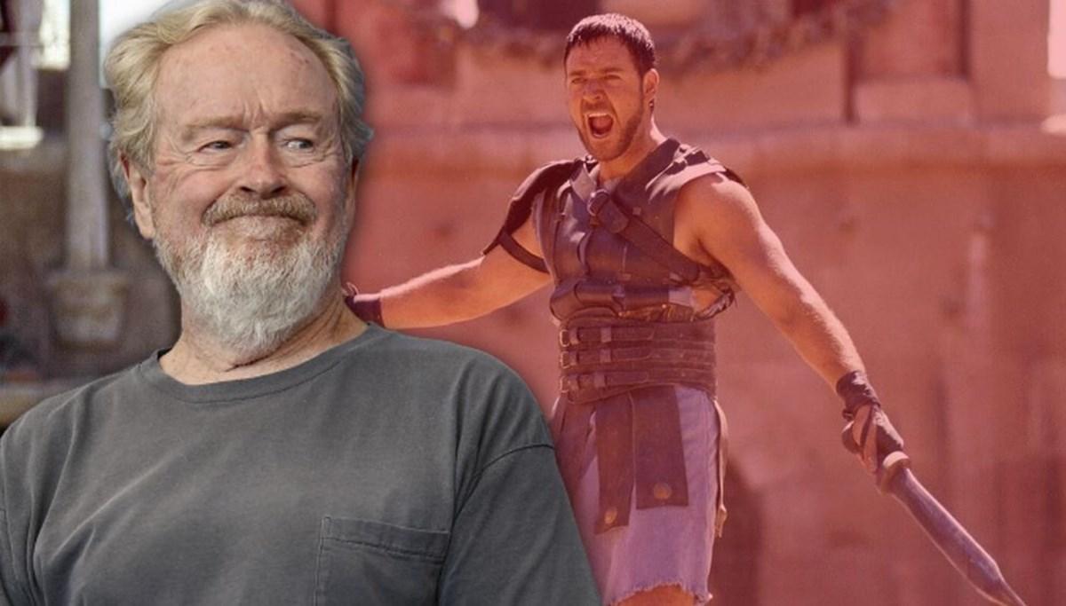 Ridley Scott, Gladyatör 2 hazırlıklarına başladı