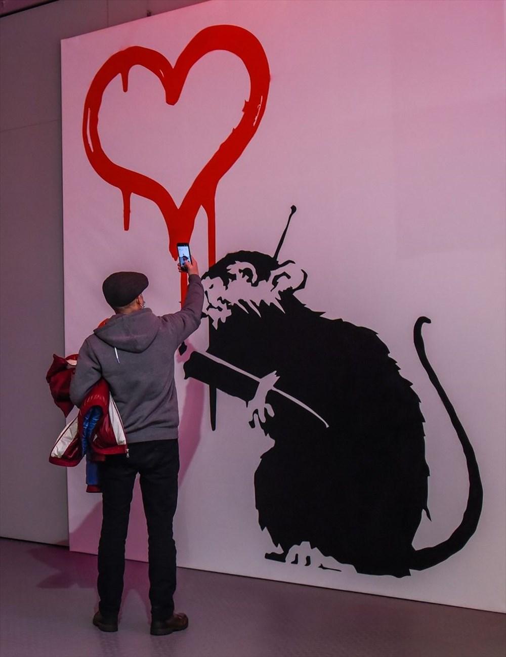 Banksy'nin sergisi Varşova'da - 5