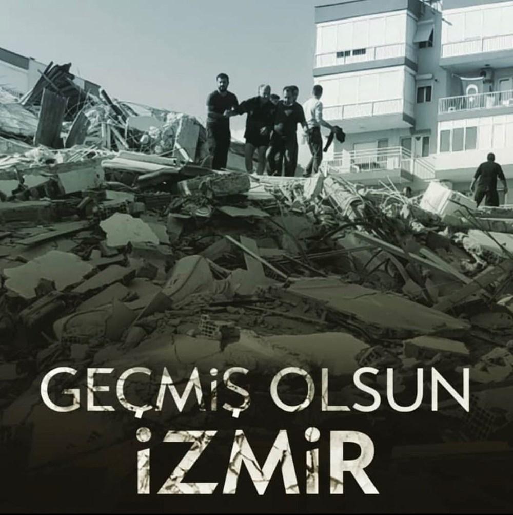 Ünlü isimlerden İzmir'e destek mesajları - 5