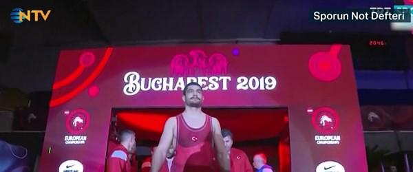 7. kez Avrupa Şampiyonu olan Taha Akgül NTV'ye konuştu
