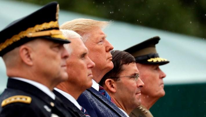 ABD ordusunda görev değişimi