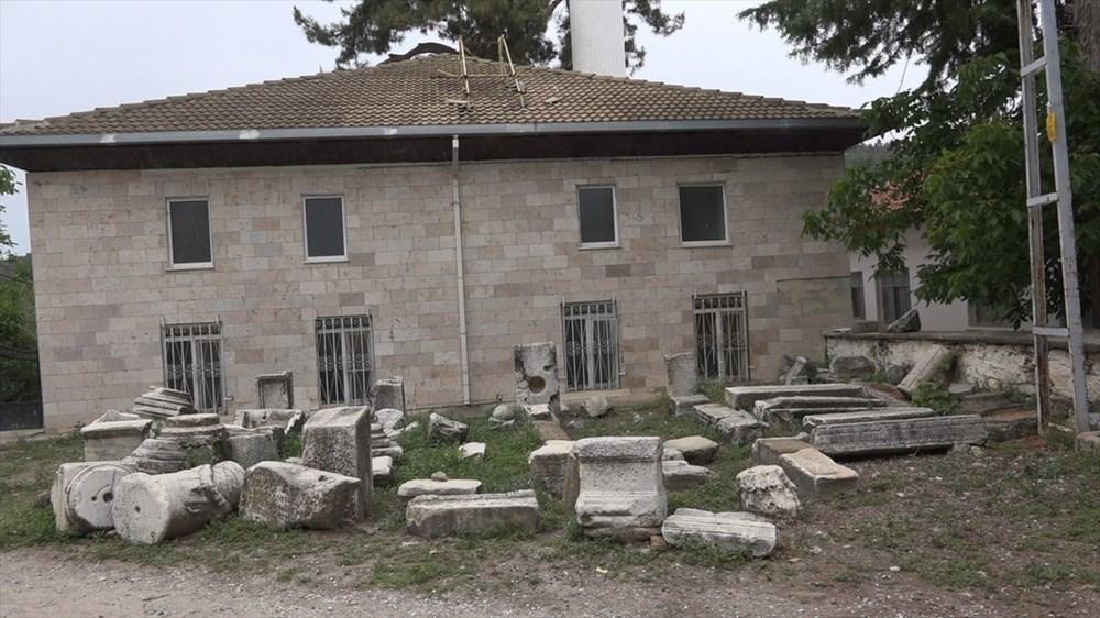 Helenistik dönemde kurulan Attouda Antik Kenti'nde yaşam devam ediyor - 15