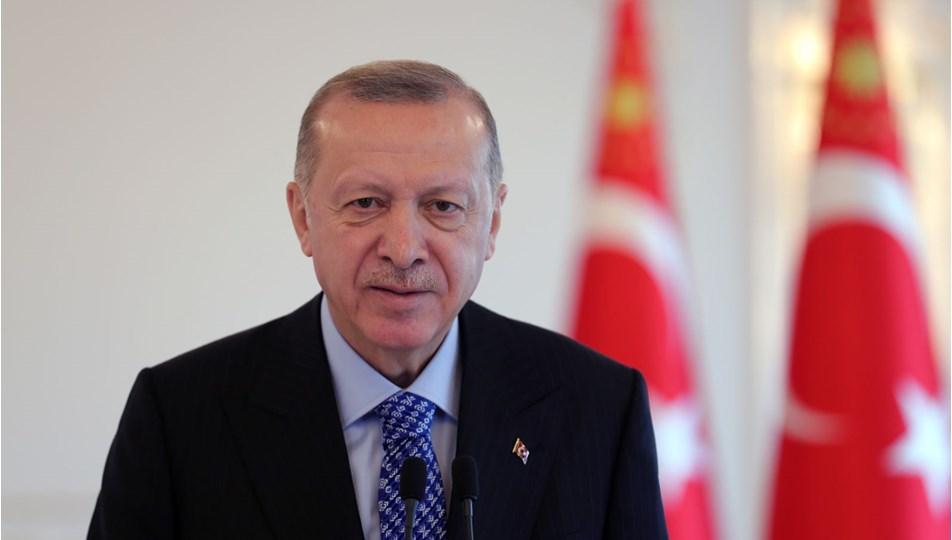 Erdoğan:Türk ekonomisi toparlama sürecini başarıyla yürütüyor