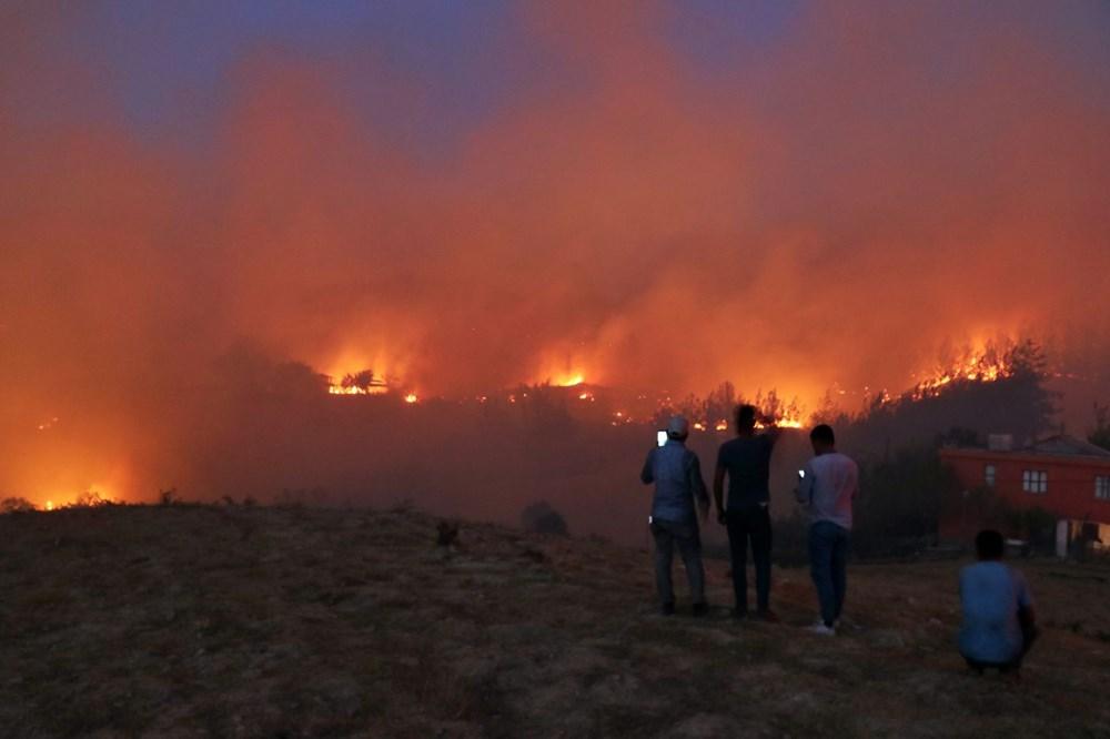 Adana'da orman yangını: 8 köy boşaltıldı - 6