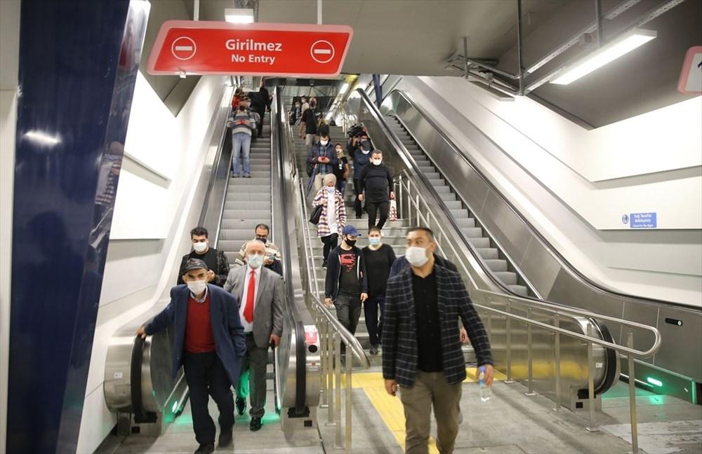 Mecidiyeköy-Mahmutbey Metrosunda seferler başladı - 2
