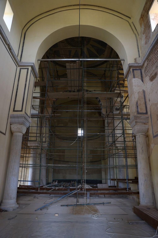 Edirne'deki tarihi Enez Fatih Camisi 56 yıl sonra ibadete açılıyor - 5