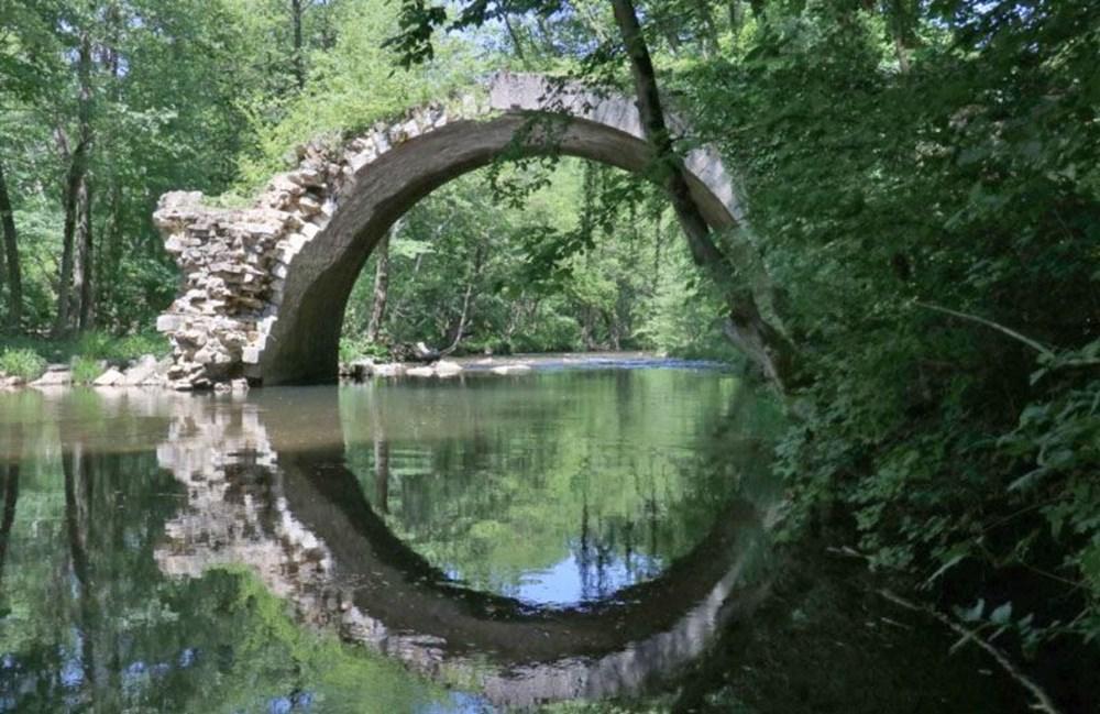 İki ülkeyi birleştiren Osmanlı köprüsü - 2
