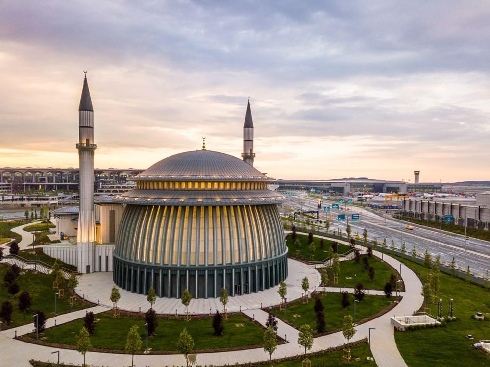 İstanbul Havalimanı'nda 3. bağımsız pist, Devlet Konukevi ve cami hizmete açılıyor - 4