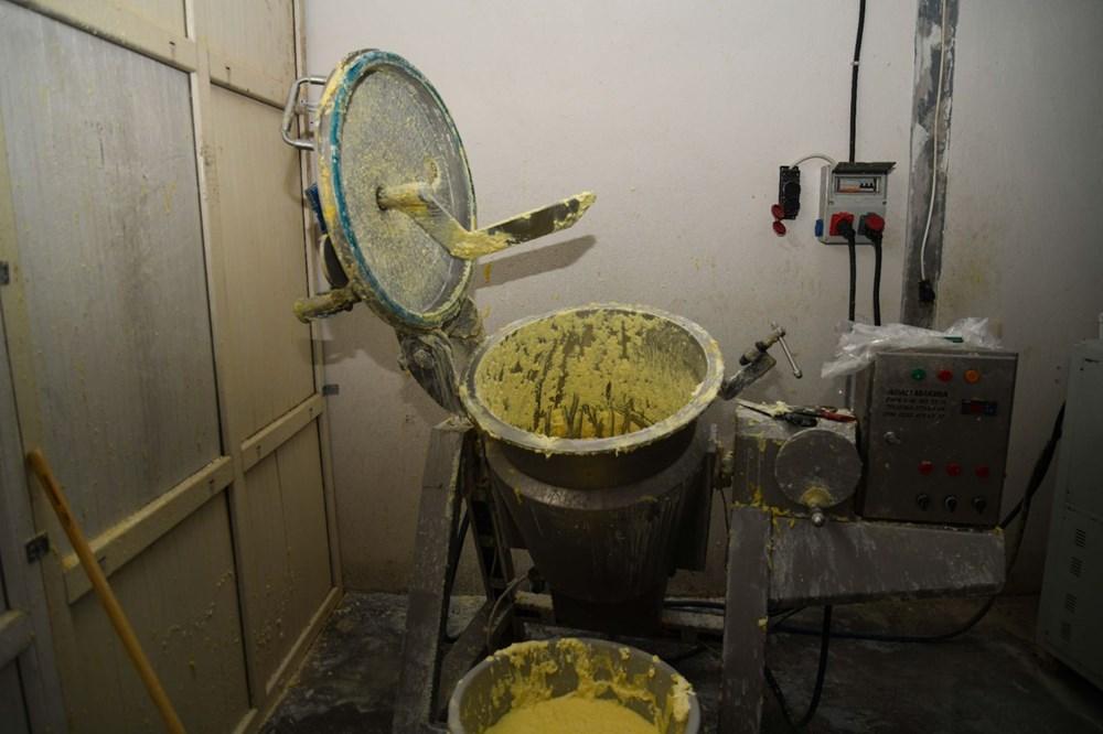 Kaçak peynir imalathanesine baskın - 7