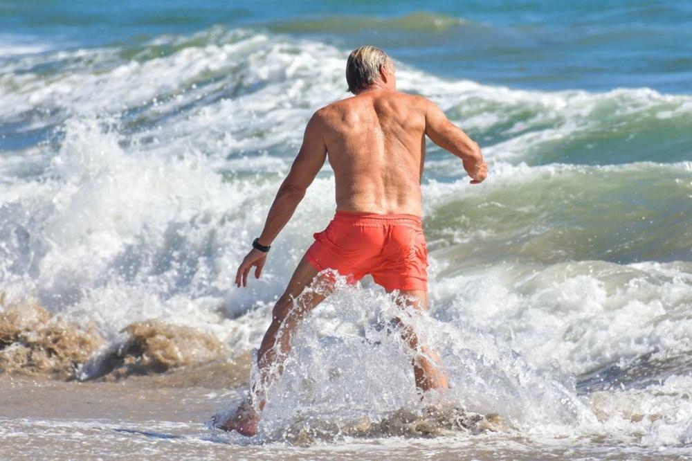 Rocky filminin yıldızı Dolph Lundgren 38 yaş küçük nişanlısıyla tatilde - 9