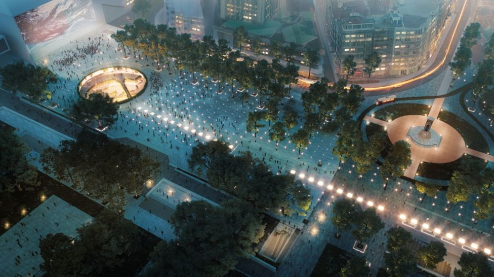 Taksim Meydanı Tasarım Yarışması sonuçlandı (Taksim Meydanı böyle olacak) - 30