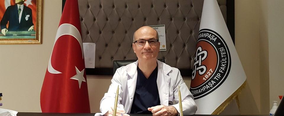 Cerrahpaşa Tıp Fakültesi Başhekimi Doç. Dr. Zekayi Kutlubay