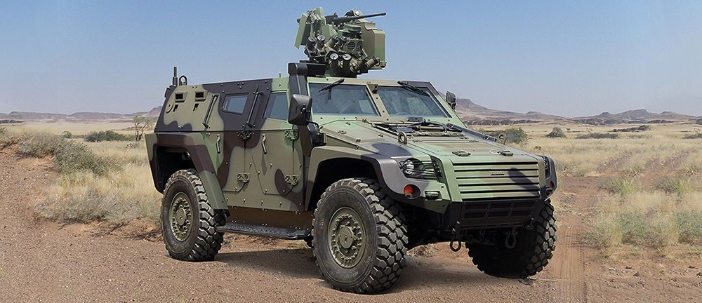 Dijital birliğin robot askeri Barkan göreve hazırlanıyor (Türkiye'nin yeni nesil yerli silahları) - 226