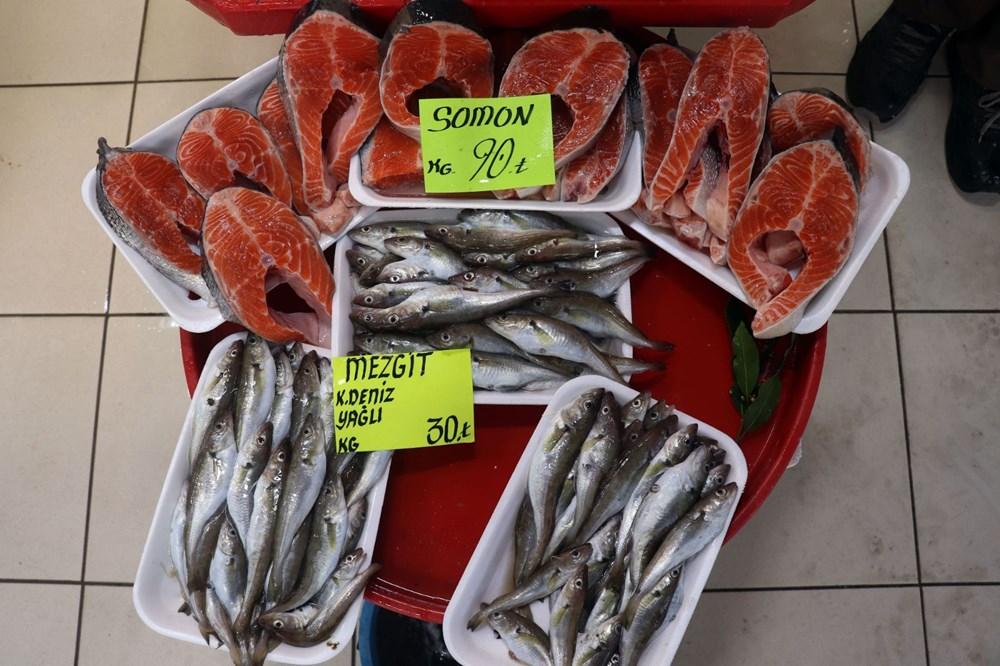 Çanakkale'de havalar ısındı balık tezgahları doldu, fiyat düştü - 10