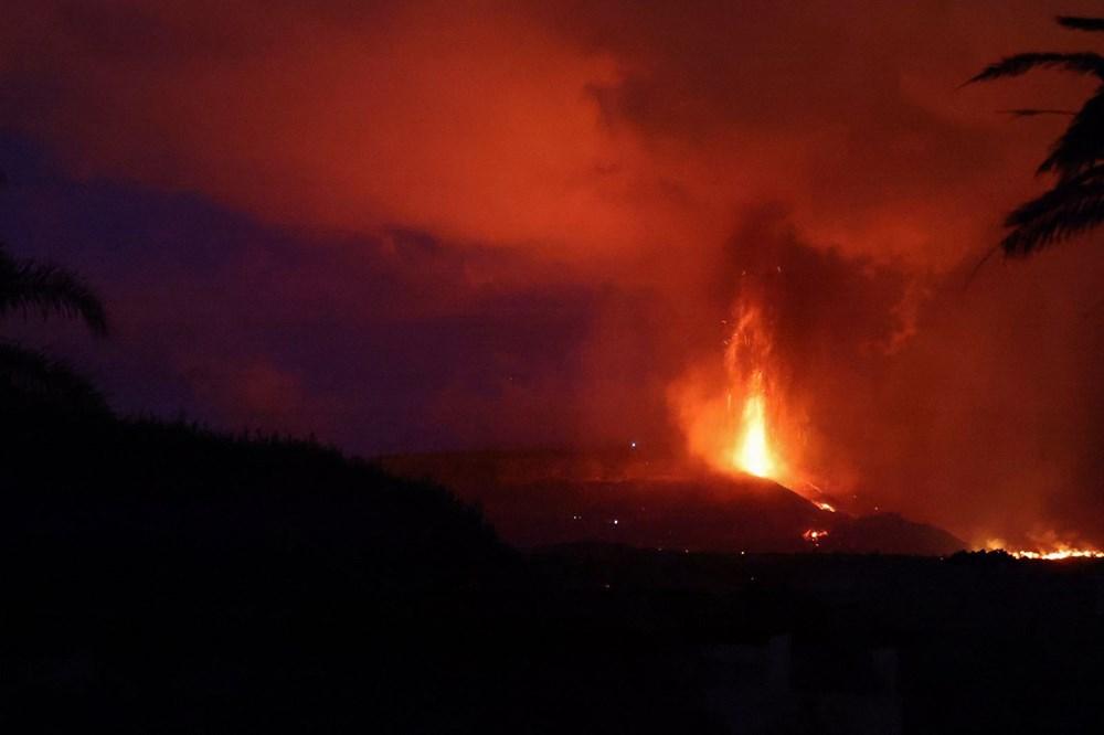 Kanarya Adaları'nın mucize evi: Etrafındaki her şey küle dönmesine rağmen hiçbir zarar görmedi - 10