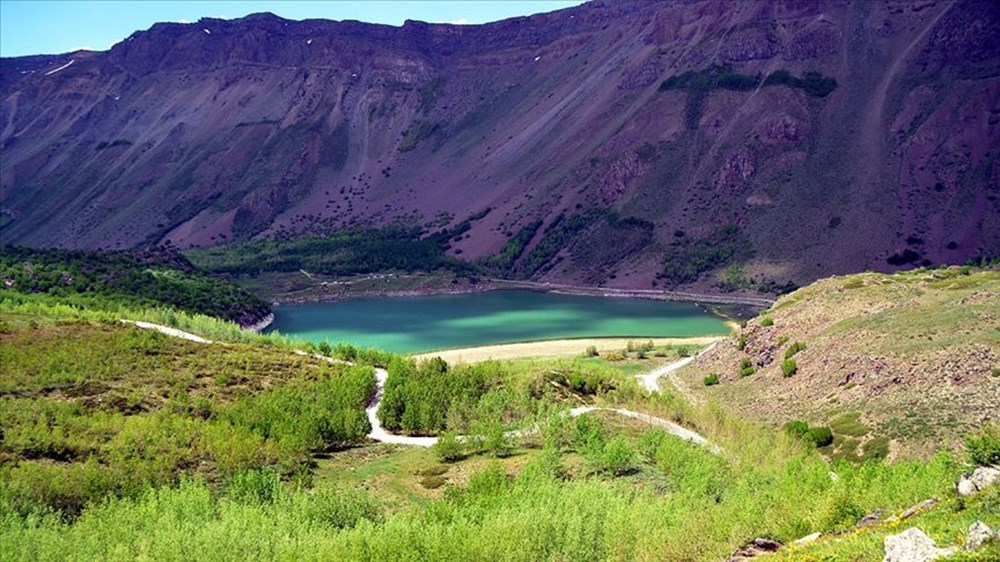 'Türkiye'nin en büyük krater gölü' Nemrut ziyarete açıldı - 6