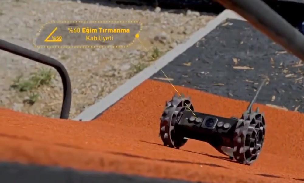 Dijital birliğin robot askeri Barkan göreve hazırlanıyor (Türkiye'nin yeni nesil yerli silahları) - 104