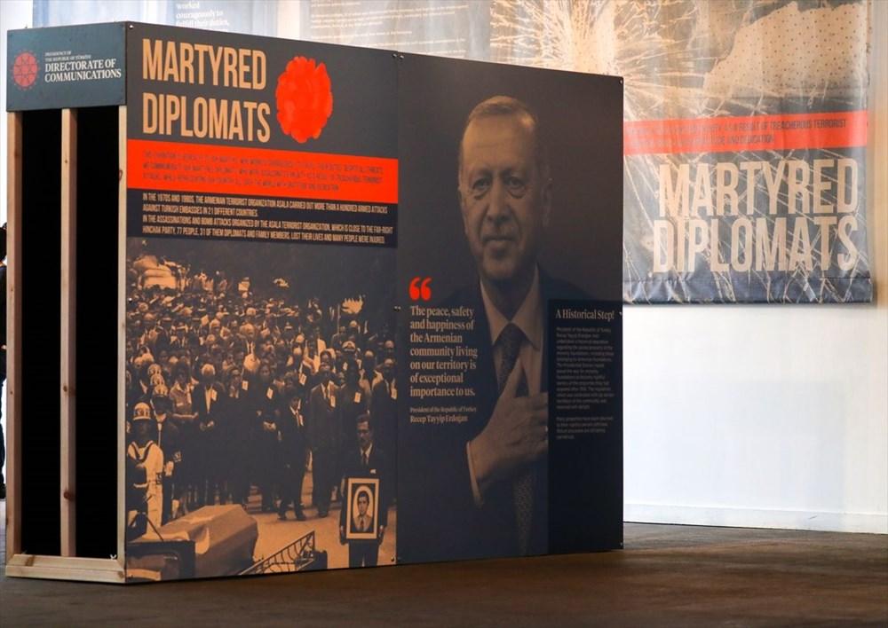 Cumhurbaşkanlığı İletişim Başkanlığı'ndan ABD'de Şehit Diplomatlar Sergisi - 10