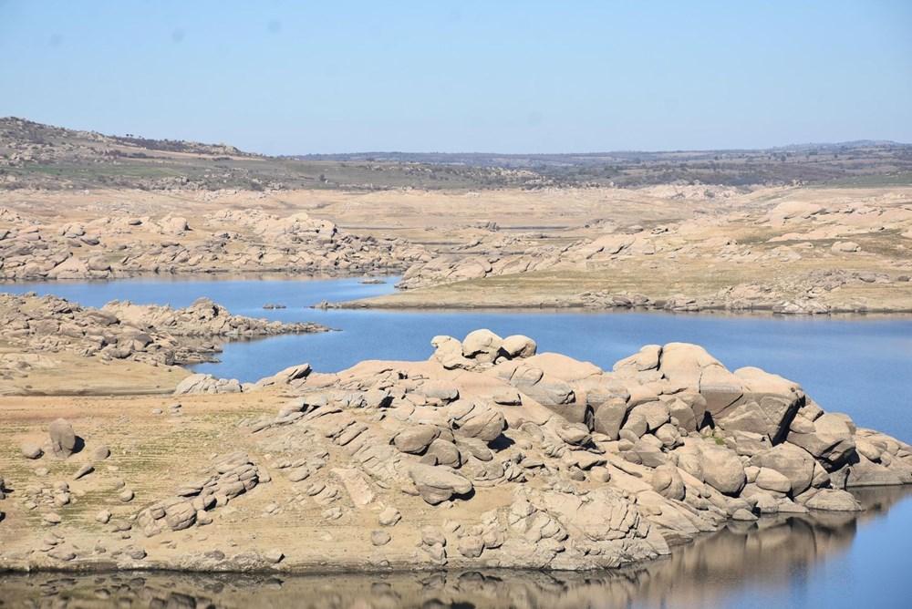 Edirne'nin içme suyunu sağlayan baraj kurudu: 36 saatlik kesinti - 8