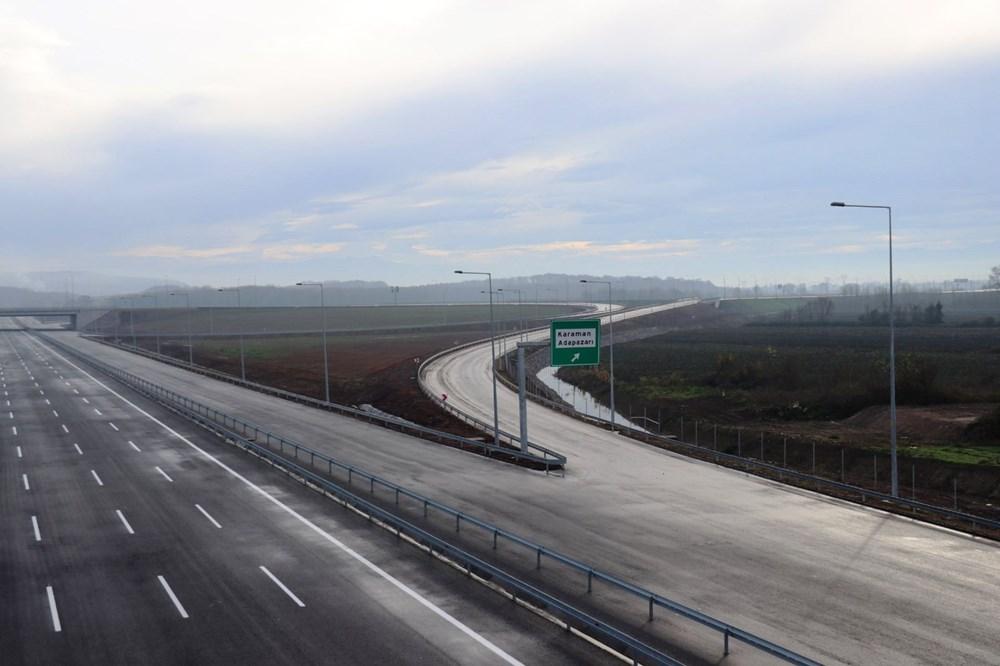 Kuzey Marmara Otoyolu'nun İzmit-Akyazı kesimi açılıyor - 4