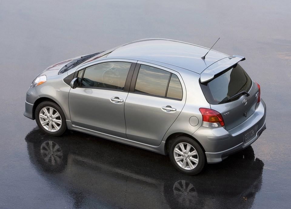 Yaris, Toyota'nın 2009'da en fazla satan otomobili olmuştu