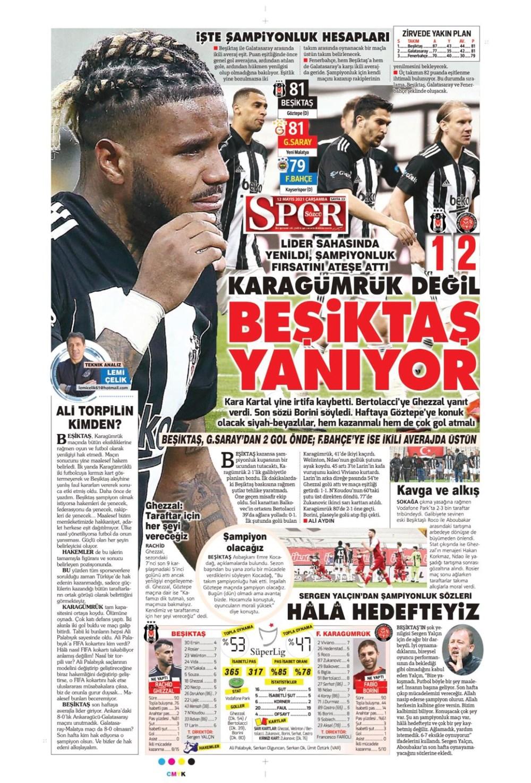 Günün spor manşetleri (12 Mayıs 2021) - 13