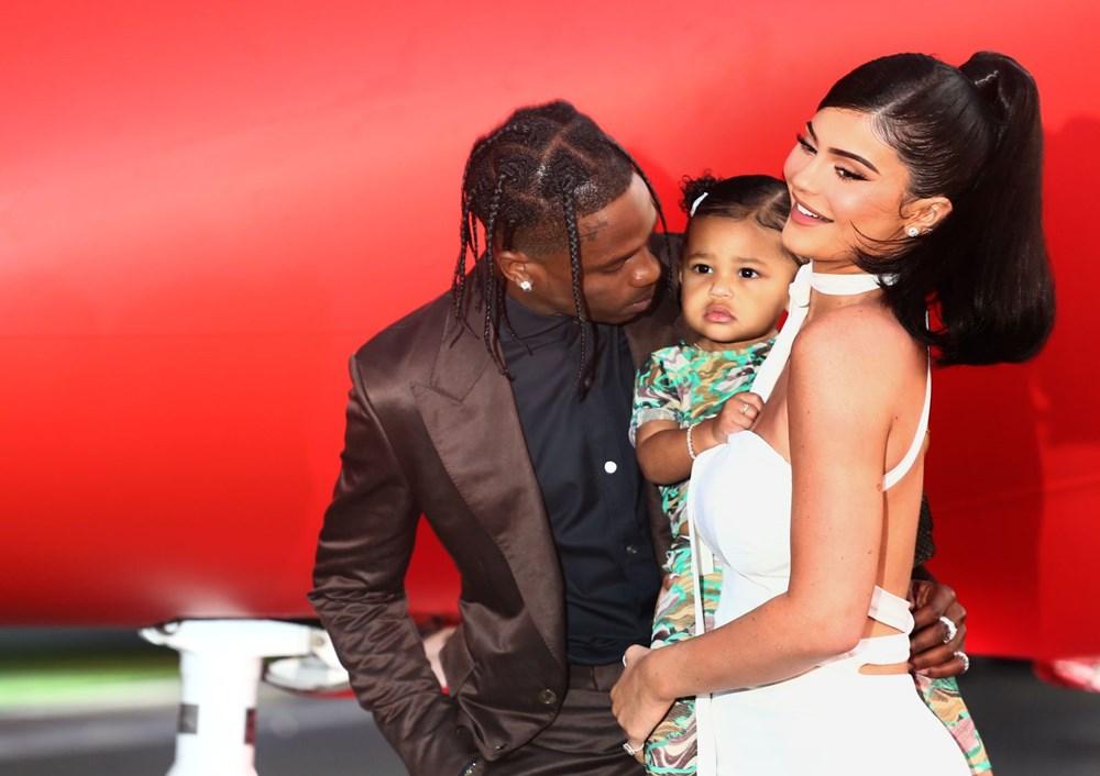 Kylie Jenner hamilelik iddialarını doğruladı: Travis Scott ile ikinci çocukları olacak - 4