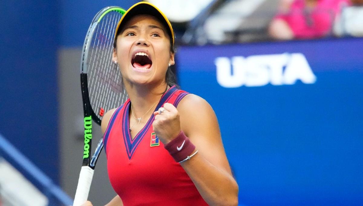 Amerika Açık'ta şampiyon 18 yaşındaki Emma Raducanu