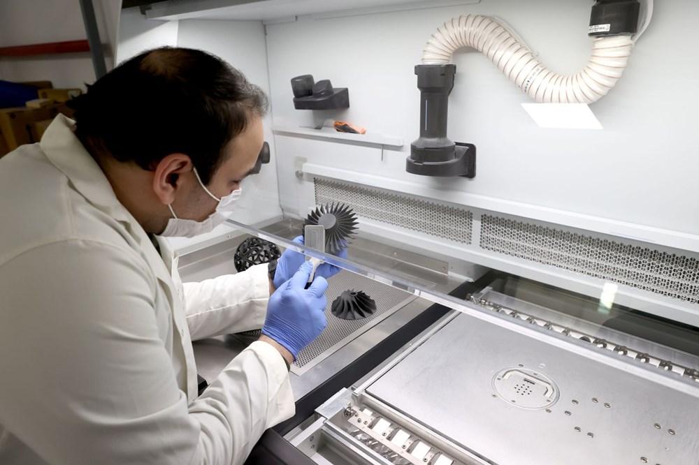 Türkiye'nin yeni İHA fabrikası üretime başladı - 11