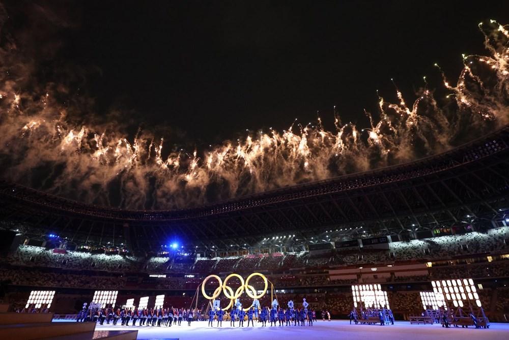 2020 Tokyo Olimpiyatları görkemli açılış töreniyle başladı - 51