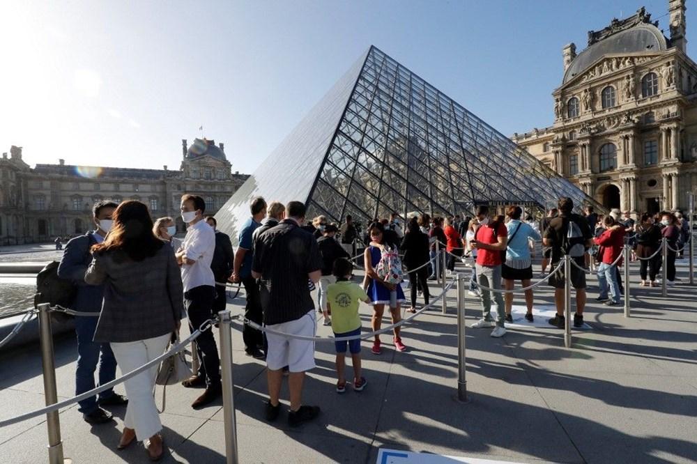 Louvre Müzesi yeniden açıldı (40 milyon euro'luk kayıp) - 2