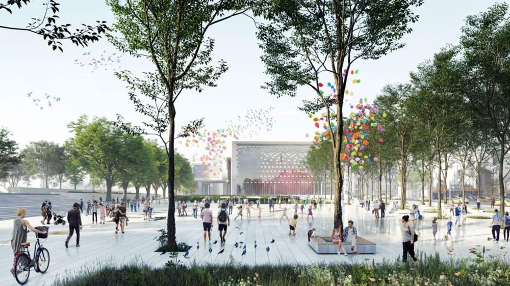 Taksim Meydanı Tasarım Yarışması sonuçlandı (Taksim Meydanı böyle olacak) - 20