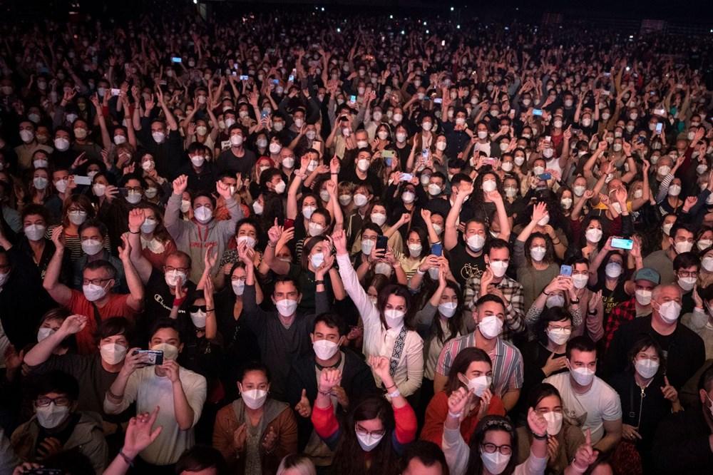 Barcelona'da yapılan 5 bin kişilik konser deneyi sonuçlandı - 7