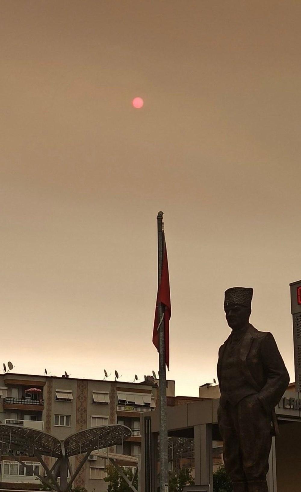 İzmir'de bulanık gökyüzü korkuttu - 6