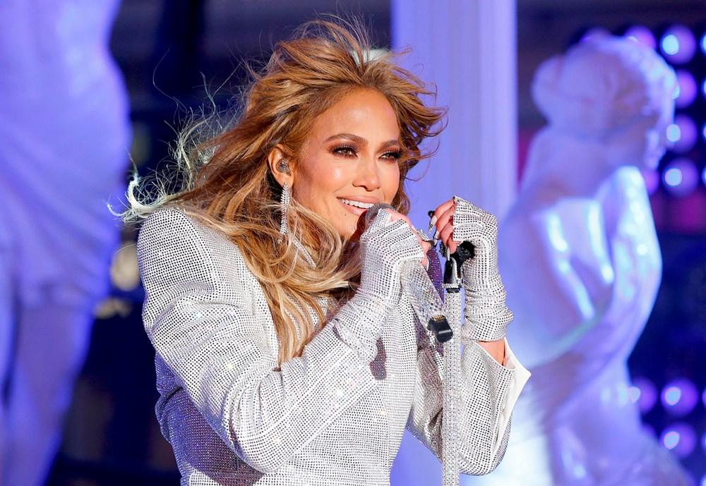 Yeni yıl kutlamasına Jennifer Lopez damgası - 6