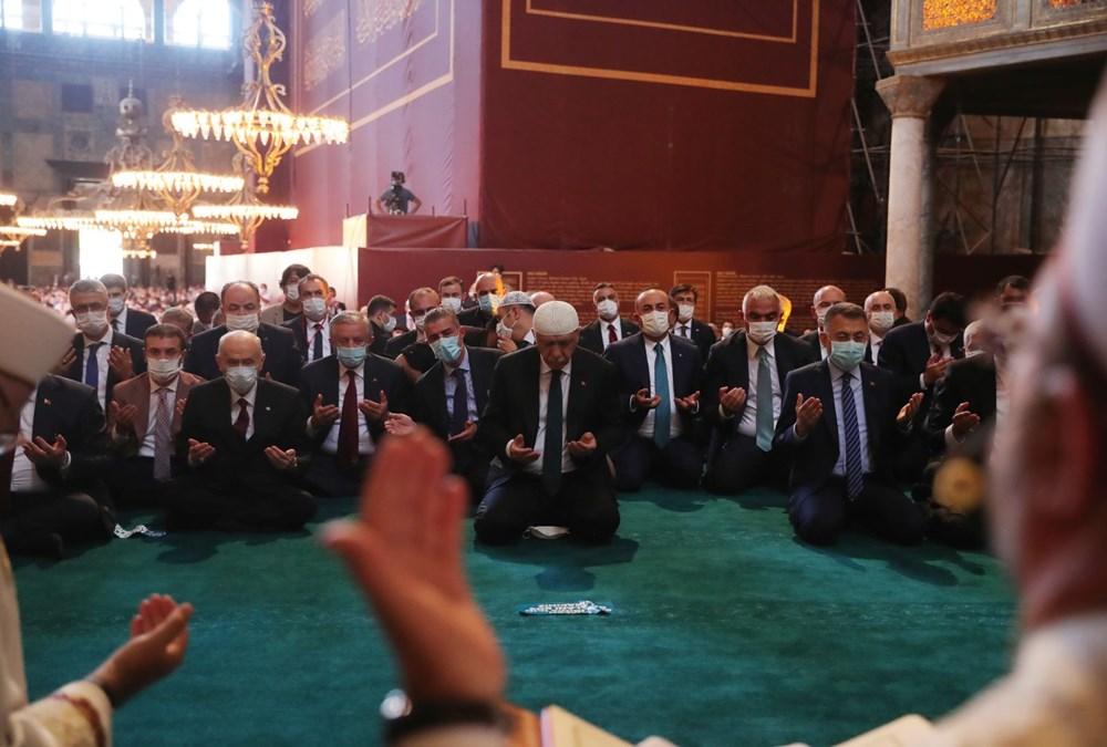 Ayasofya-i Kebir Camii Şerifi ibadete açıldı (Ayasofya'da 86 yıl sonra ilk namaz) - 15