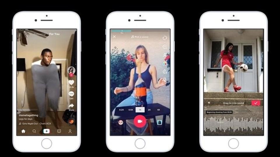 Asya pazarında çok hızlı büyüyenTikTok, ABD pazarında da kolay kullanımlıApp'iile son dönem indirilme sayısında Facebook'un üzerine çıktı.