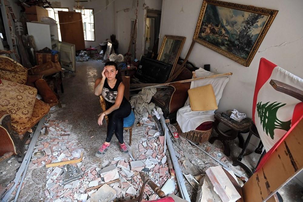 Harabelerin ortasındaki Lübnan halkı: Binlerce kişi evsiz - 11