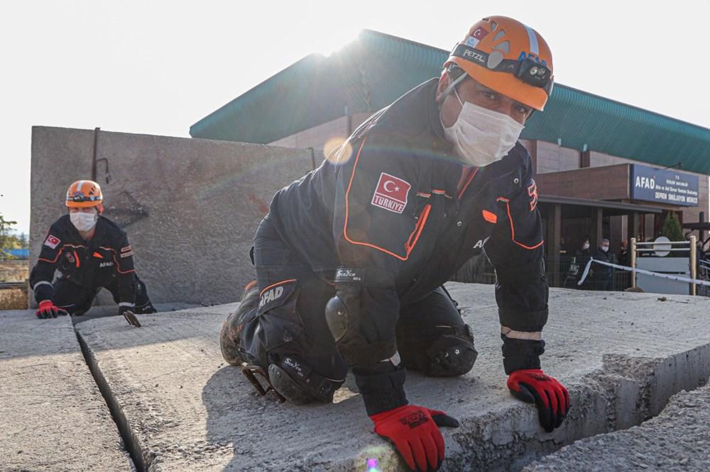 İzmir depremi kahramanlarının zorlu eğitimi (AFAD gönüllüsü nasıl olunur?) - 7