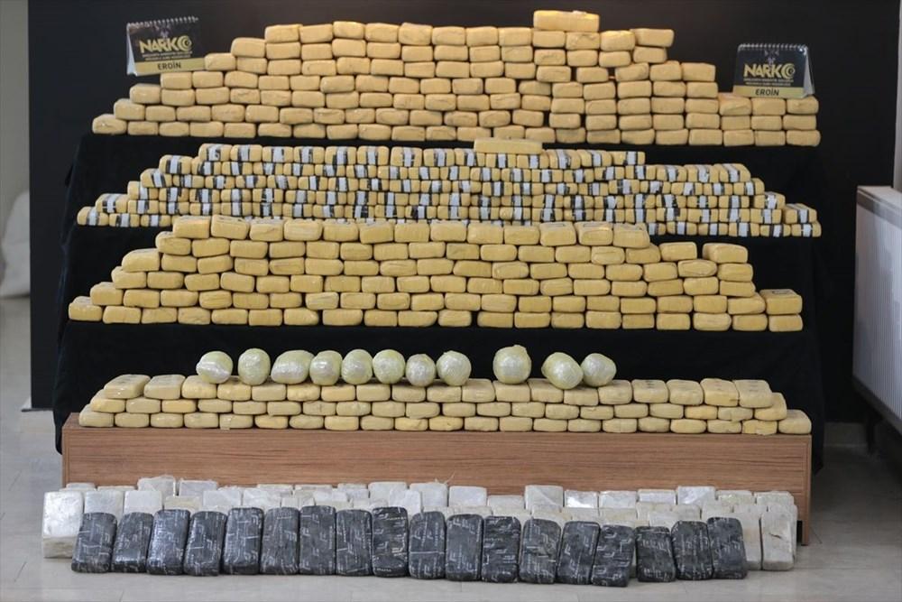 Şanlıurfa'da 275 kilogram eroin ele geçirildi: Piyasa değeri 20 milyon lira - 5