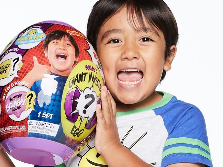 YouTube'un en çok kazananı 9 yaşındaki Ryan: Yılda 26 milyon dolar