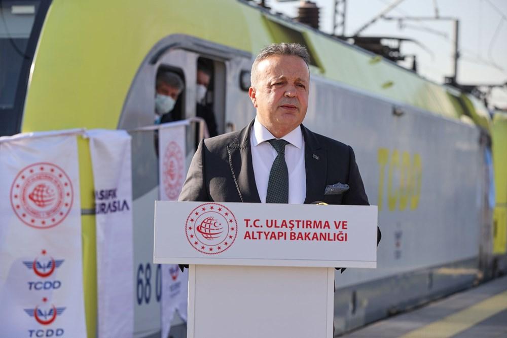 Türkiye'den Çin'e gidecek ilk ihracat treni İstanbul'dan uğurlandı - 10
