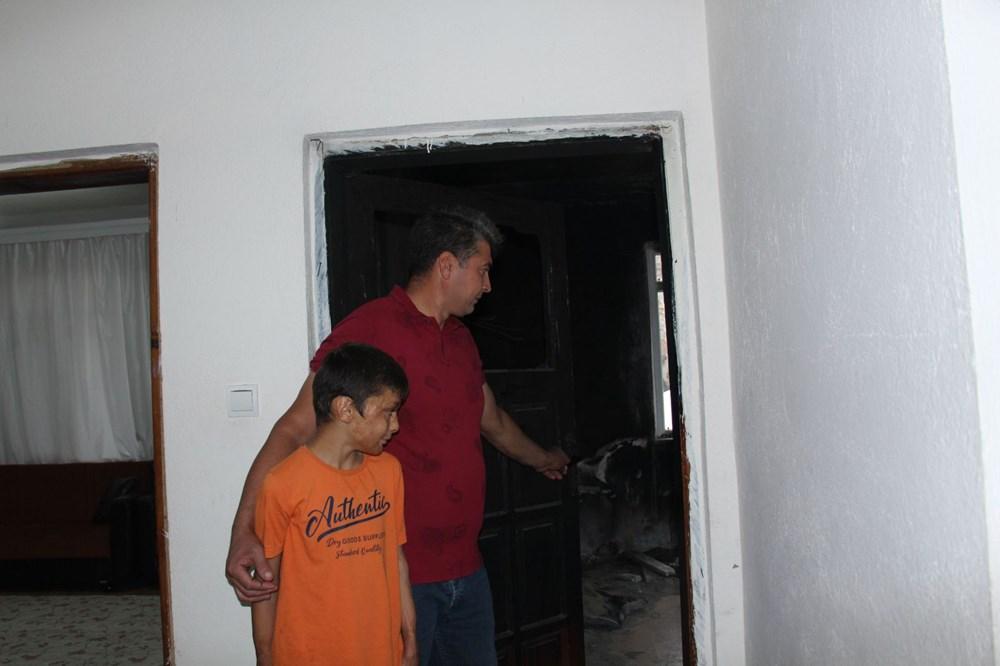 8 yıl önce yanan odayı dava bitmediği için külleriyle kilitli tutuyorlar - 8